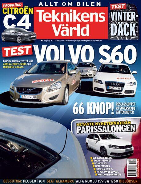 Teknikens Värld nummer 22 / 2010