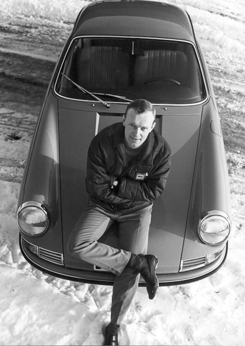 1967 hade Björn Waldegård bytt till Porsche.