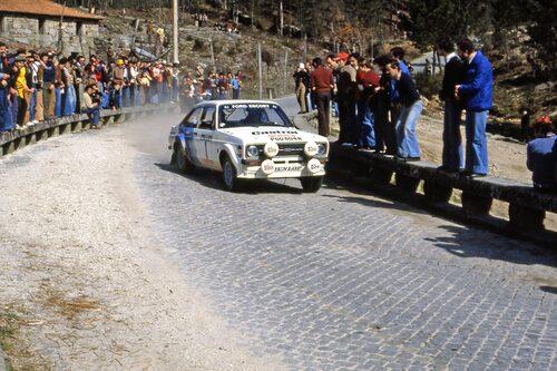 Mera Ford, här i Portugal 1979, där det blev en andraplats.
