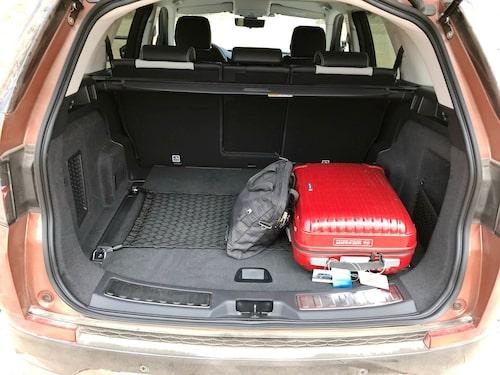 Sju sittplatser eller ett större bagageutrymme – valet är ditt.