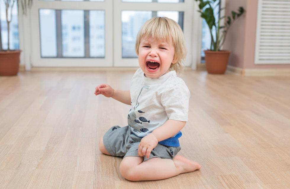 Utbrott och trots – det krävs inte mycket för att en harmonisk 2-åring ska hamna ur fas. (Barnet på bilden har inget samband med texten) Foto: Shutterstock