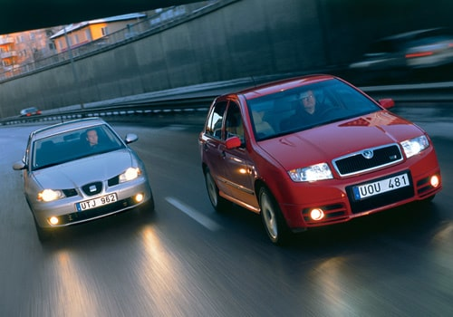 Seat Ibiza TDI och Skoda Fabia RS