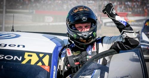 Regerande världsmästare i rallycross är Johan Kristoffersson, för andra året i rad. Något tredje blir det inte.