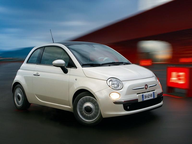 Provkörning av Fiat 500