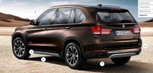 Nya BMW X5, F15