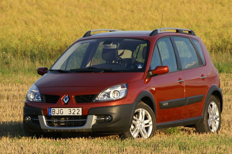 Provkörning av Renault Scénic Conquest