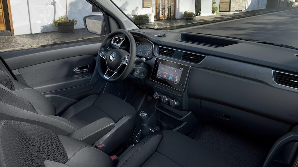 Nya Renault Express. Ska endast säljas utanför Europa.