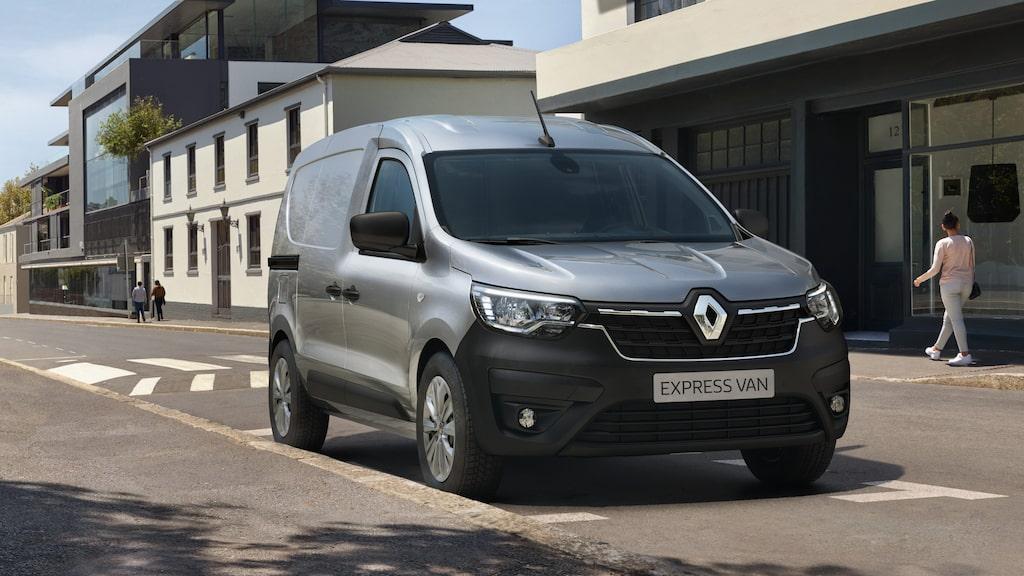 Nya Renault Express Van.