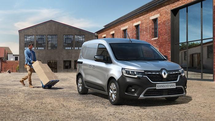 Nya Renault Kangoo Van.