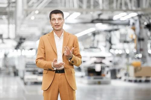 Polestars vd Thomas Ingenlaths genuina designchefsbakgrund är starkt drivande för det nya varumärket.
