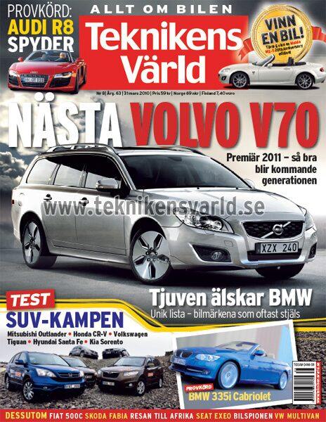 Teknikens Värld nummer 8 / 2010