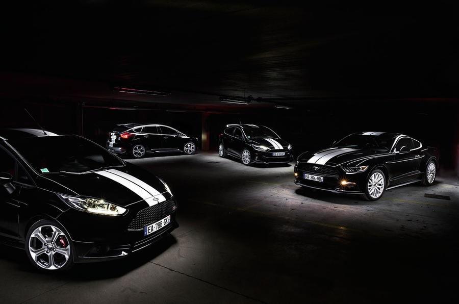 Ford Fiesta ST, Focus ST, Focus RS och Mustang 50th Anniversary