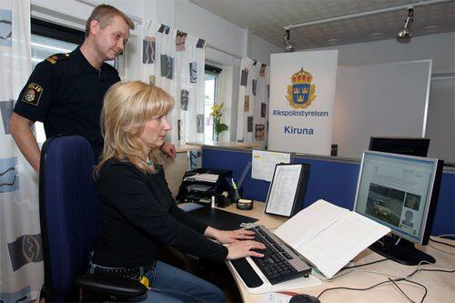 Kan man lita på vad de sysslar med uppe på Trafikövervakningscentralen i Kiruna?