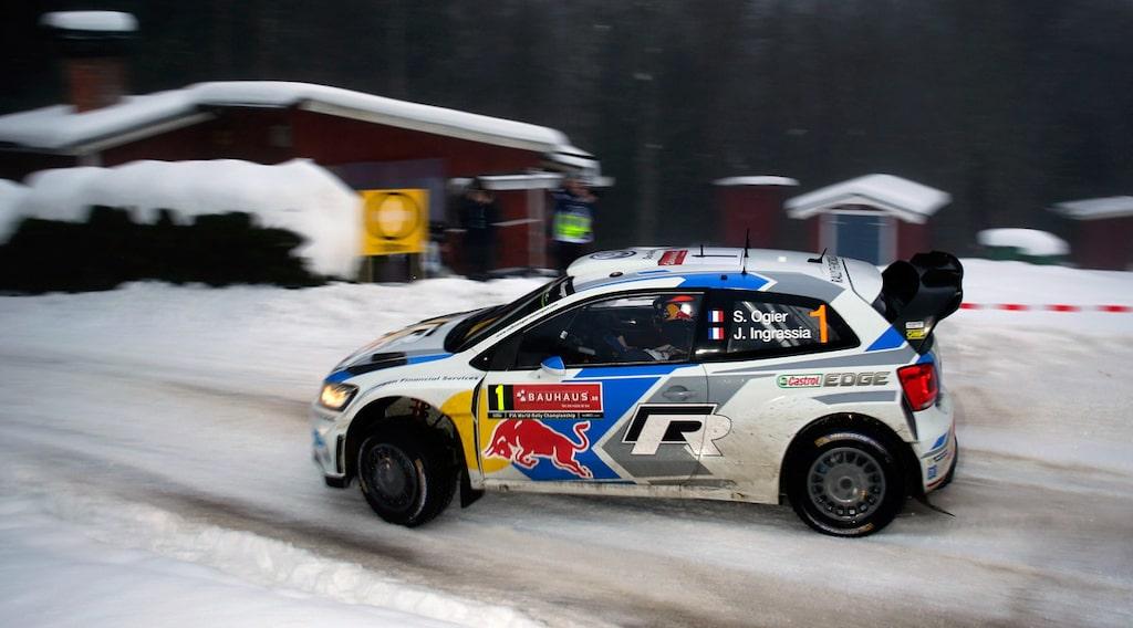 Sébastien Ogier Svenska Rallyt