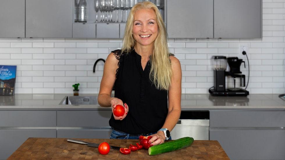 Linn Lundström kom i sitt livs bästa form efter skilsmässan.