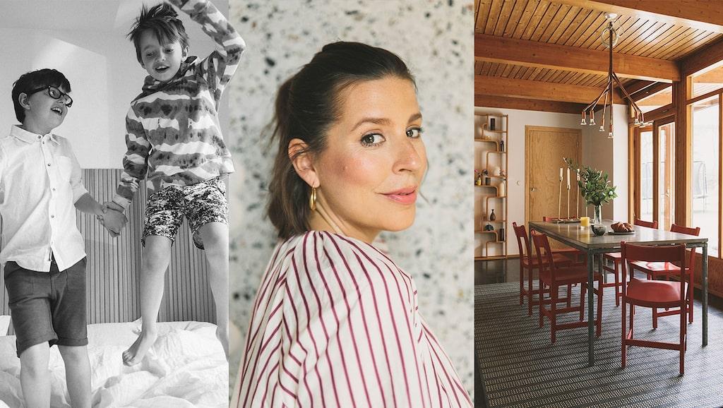 Mode- och skönhetsredaktören Emma Unckels söner ska få en lillasyster.