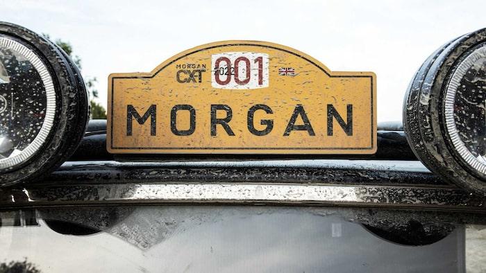 Detaljbild Morgan Plus Four CX-T