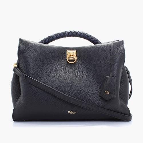 Väska från Mulberry, Iris i svart skinn.