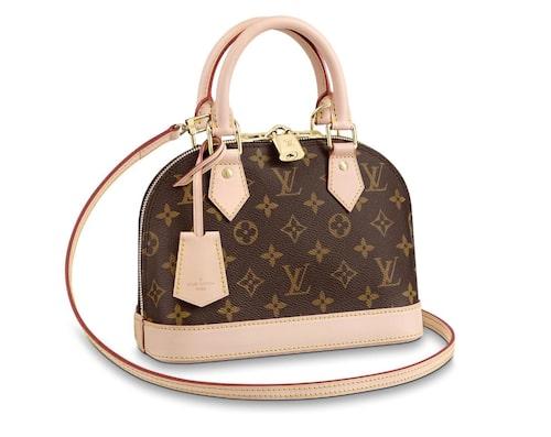 Handväskan Alma från Louis Vuitton.