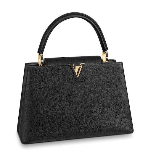 Väskmodellen Capucines från Louis Vuitton.