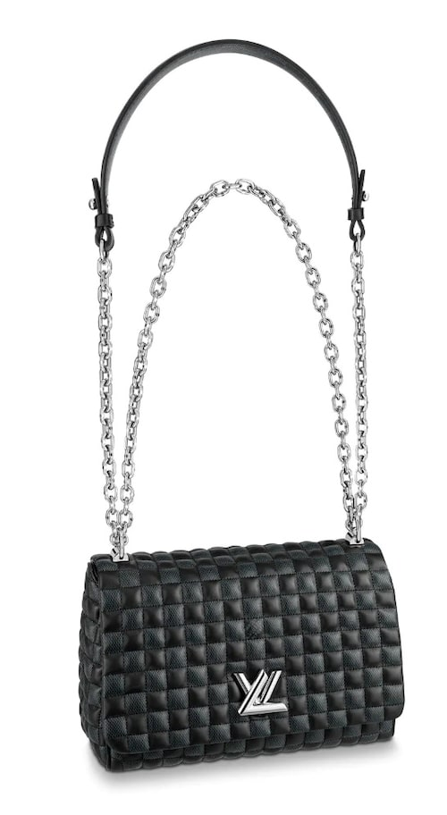 Modellen Twist från Louis Vuitton räknas som en av modehusets väskklassiker.
