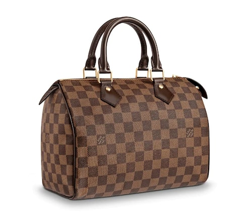 Den klassiska Louis Vuitton-handväskan Speedy.