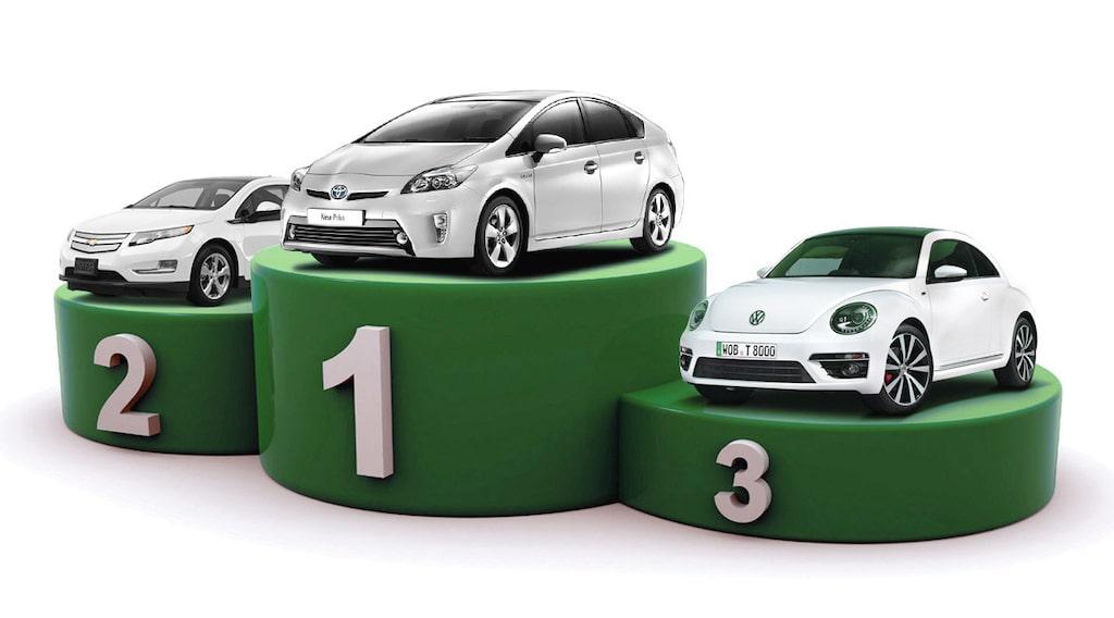 Toyota etta, GM tvåa och Volkswagen trea