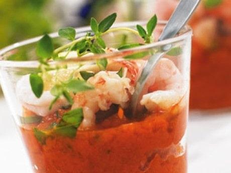 Gazpacho med smak av paprika