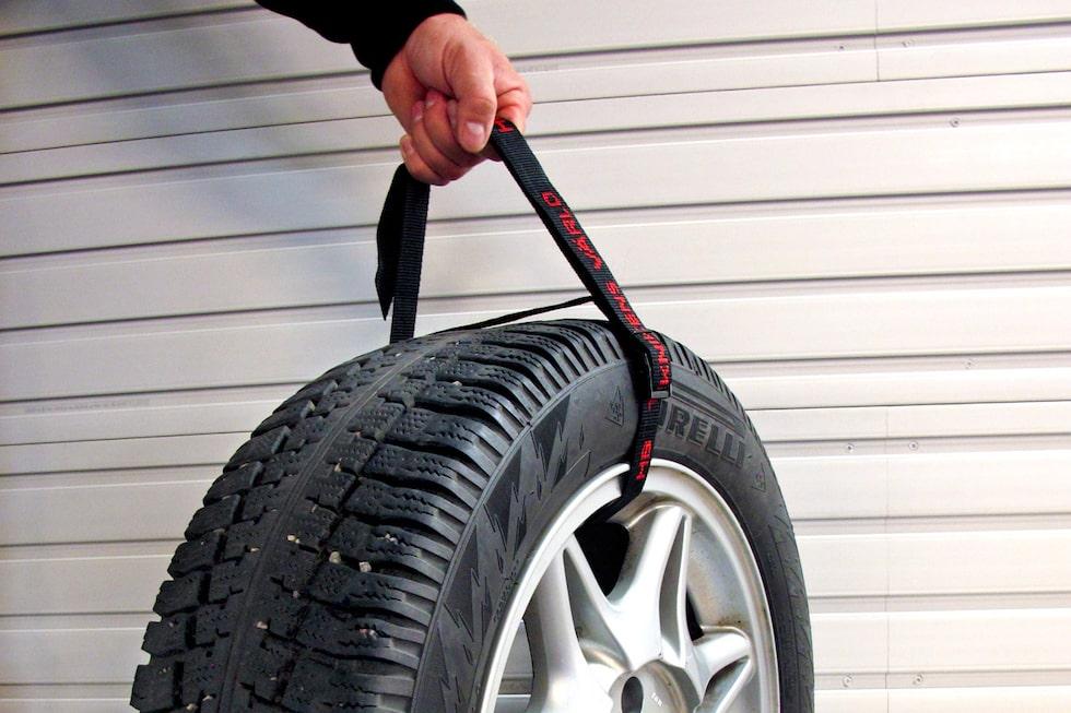 Spännband för bildäck