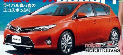 Nya Toyota Auris 2013