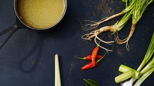 Recept på asiatisk buljong