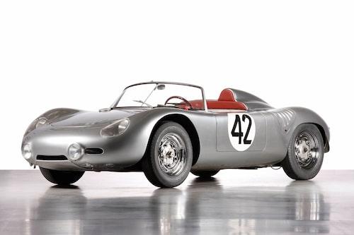 Porsche 718, 1957-1962.