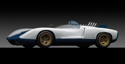 Zora Arkus-Duntov Corvette CERV II Concept från 1964 hade mittmotor.