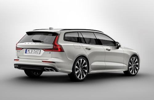 Nya Volvo V60 erbjuds med dieselmotorer under huven. Sedansyskonet S60 kommer inte att göra det. Här ses nya V60 med bensinmotor.