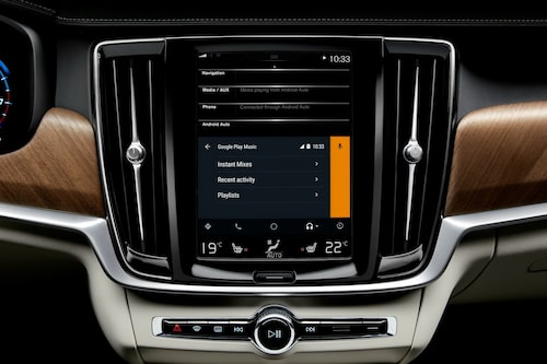 Volvo Android Auto med Google Play Music
