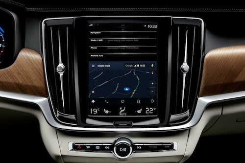 Volvo Android Auto med Google Maps