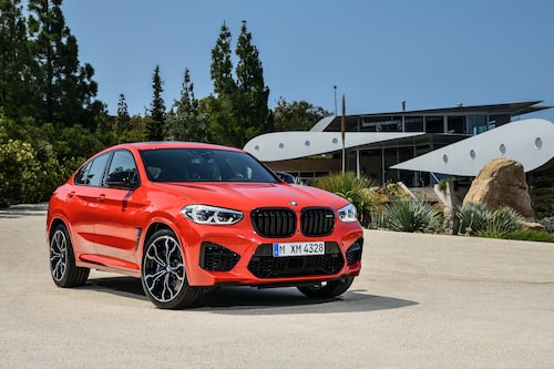 BMW X4 M Competition 2020