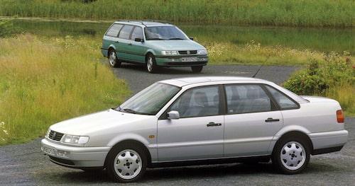 Volkswagen Passat B4 1993-1997 (egentligen facelift av B3)