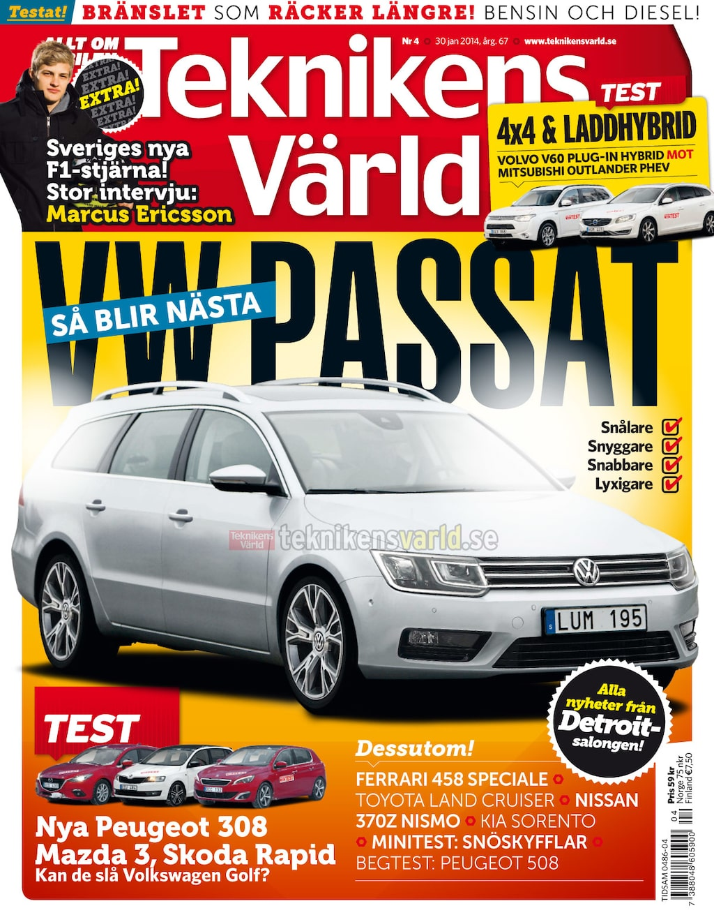Teknikens Värld nummer 4 / 2014