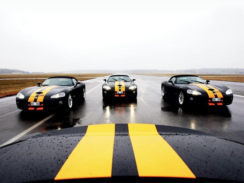 Provkörning av Dodge Viper SRT10 Roadster