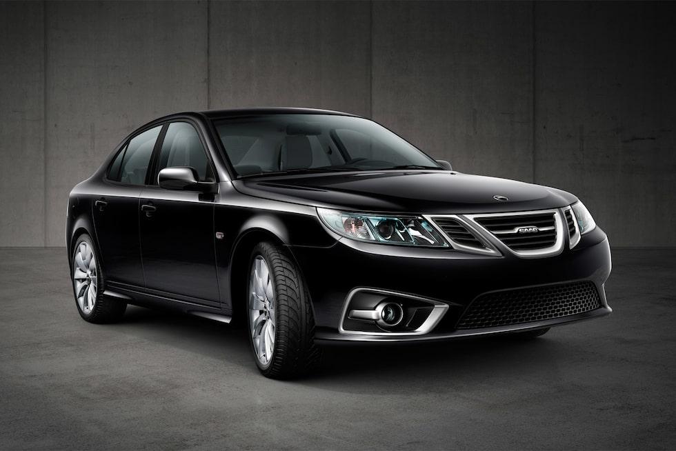 Nya Saab 9-3 Aero Sedan modellår 2014