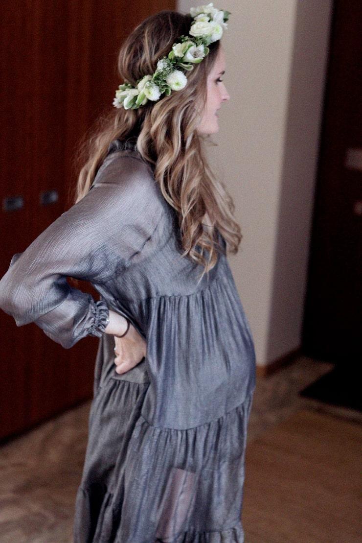 Olga firades med två baby showers under graviditeten.