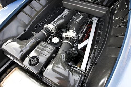 Motorn är vässad från 490 till 510 hk.