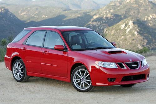 6. SAAB 9-2X . Badge engineering när den är som sämst. I grunden en Subaru Impreza. Bidrog till många hånfulla kommentarer som knappast lär ha gagnat varumärket Saab.