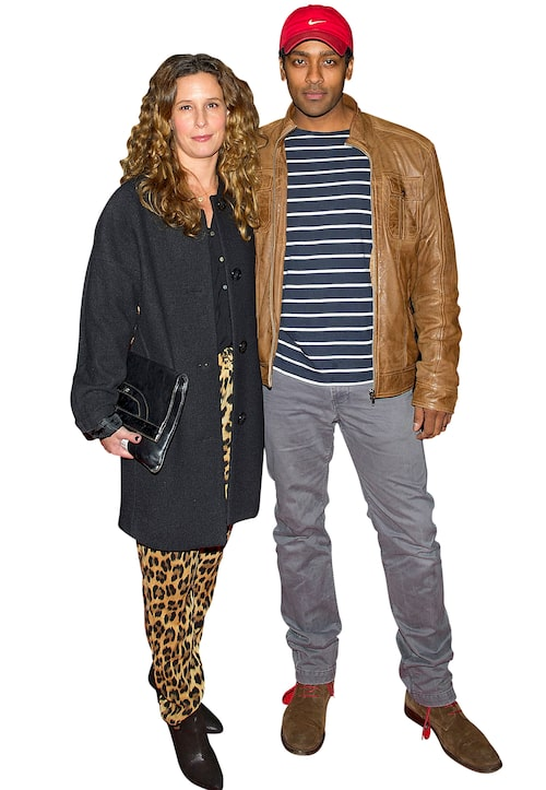 Alexander Karim med frun Malin Karim.