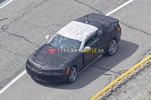 Chevrolet Camaro ZL1 spionbilder