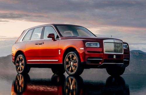 Cullinan kom till när Giles Taylor styrde skutan på Rolls-Royce designkontor.
