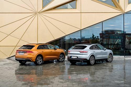 Trots att Cayenne Coupé inte är någon speciellt miljövänlig laddhybrid får den en årsskatt på 360 kronor. Jämför det med Audi Q8:s 15352 kronor.
