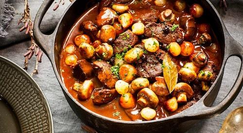 Recept på potatispuré med rotselleri.