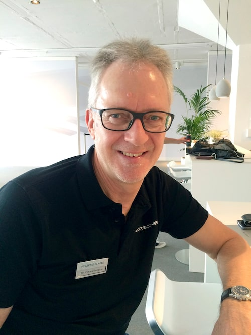 Dr Erhardt Mössle, director 911 Turbo, Targa 4 & Carrera 4.